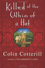 Book Cover for KILLED AT THE WHIM OF A HAT