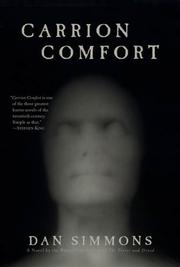 Cover art for CARRION COMFORT