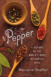 PEPPER by Marjorie Shaffer