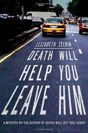 Book Cover for DEATH WILL HELP YOU LEAVE HIM