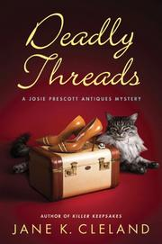 Cover art for DEADLY THREADS