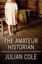 Cover art for THE AMATEUR HISTORIAN