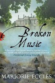 Cover art for BROKEN MUSIC