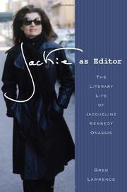 Cover art for JACKIE AS EDITOR