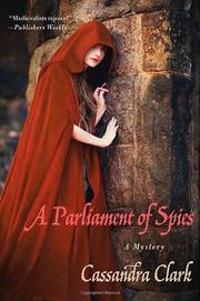 Cover art for A PARLIAMENT OF SPIES