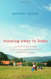 Book Cover for RUNNING AWAY TO HOME