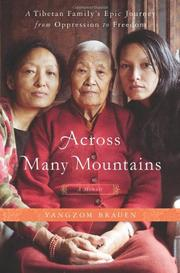 Cover art for ACROSS MANY MOUNTAINS