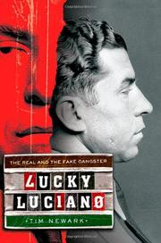 Cover art for LUCKY LUCIANO