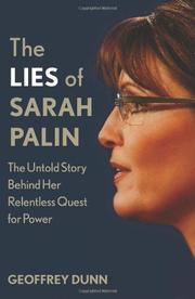 THE LIES OF SARAH PALIN by Geoffrey Dunn