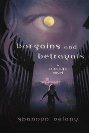 Cover art for BARGAINS AND BETRAYALS