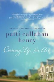 Cover art for COMING UP FOR AIR