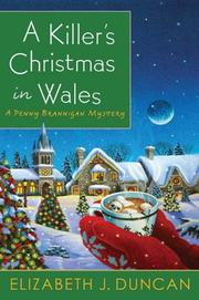 Cover art for A KILLER'S CHRISTMAS IN WALES