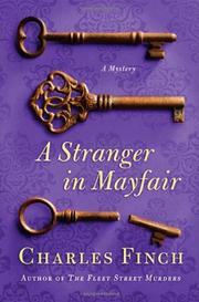 Book Cover for A STRANGER IN MAYFAIR
