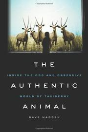 Book Cover for THE AUTHENTIC ANIMAL