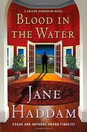 BLOOD IN THE WATER by Jane Haddam