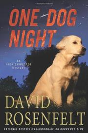 Book Cover for ONE DOG NIGHT