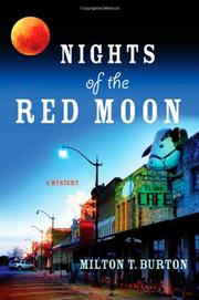 Cover art for NIGHTS OF THE RED MOON