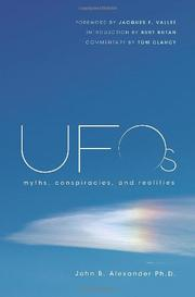 Cover art for UFOS