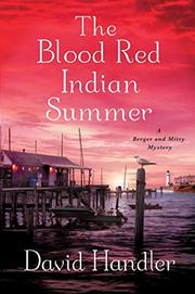 Book Cover for THE BLOOD RED INDIAN SUMMER