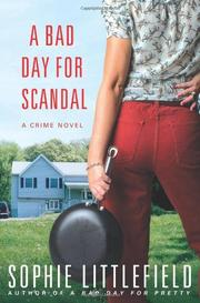 Book Cover for A BAD DAY FOR SCANDAL