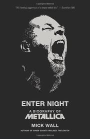 Cover art for ENTER NIGHT