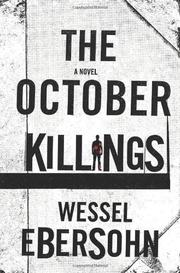 Cover art for THE OCTOBER KILLINGS