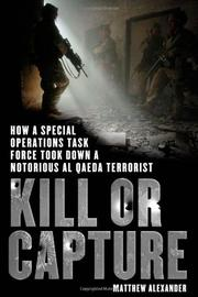 Book Cover for KILL OR CAPTURE