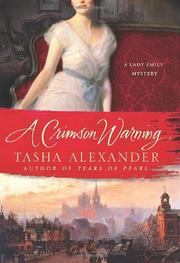 Cover art for A CRIMSON WARNING