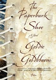 THE PAPERBARK SHOE by Goldie Goldbloom