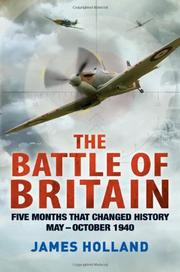 Cover art for THE BATTLE OF BRITAIN