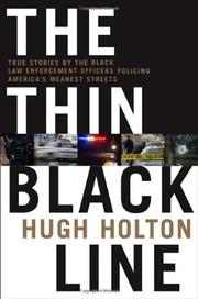 Book Cover for THE THIN BLACK LINE