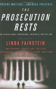 Cover art for THE PROSECUTION REST