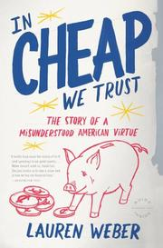 Book Cover for IN CHEAP WE TRUST