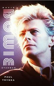 Cover art for DAVID BOWIE