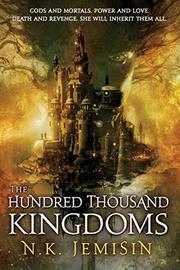 Cover art for THE HUNDRED THOUSAND KINGDOMS