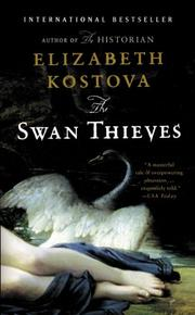 Cover art for THE SWAN THIEVES