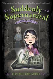 Cover art for SUDDENLY SUPERNATURAL