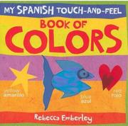 Cover art for MY SPANISH TOUCH-AND-FEEL BOOK OF COLORS