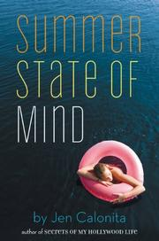 SUMMER STATE OF MIND by Jen Calonita