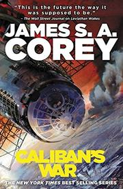 Cover art for CALIBAN'S WAR