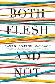 Book Cover for BOTH FLESH AND NOT