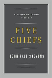 Cover art for FIVE CHIEFS