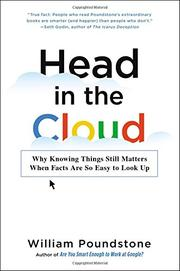 HEAD IN THE CLOUD by William Poundstone