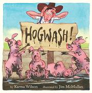 Cover art for HOGWASH!