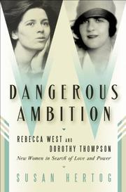 Cover art for DANGEROUS AMBITION