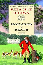 Cover art for HOUNDED TO DEATH