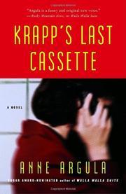 KRAPP'S LAST CASSETTE by Anne Argula
