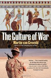 Cover art for THE CULTURE OF WAR