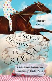 Cover art for SEVEN SEASONS IN SIENA