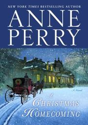 Book Cover for A CHRISTMAS HOMECOMING